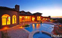 Home in Pima Canyon